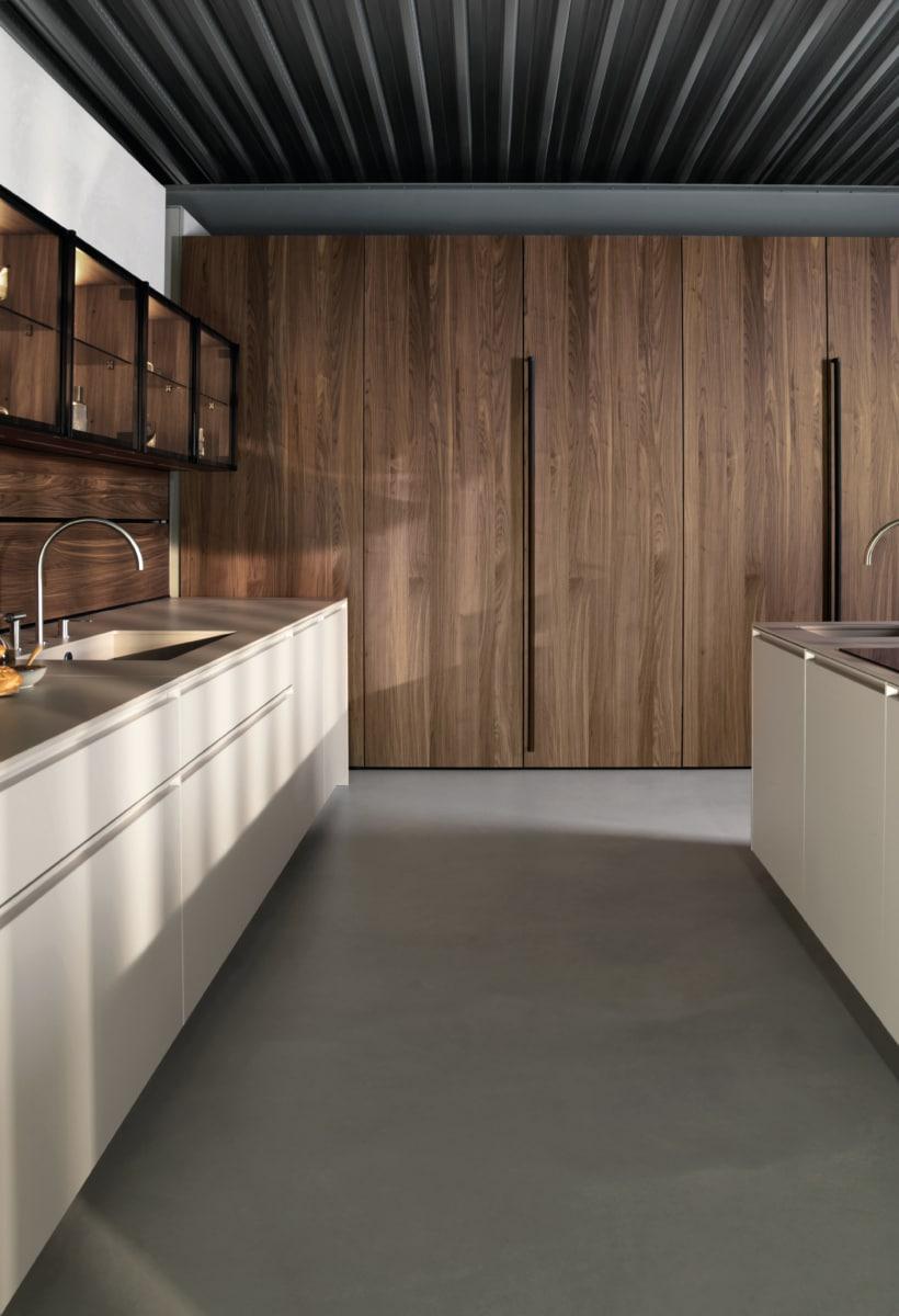 Kitchen Tech di Euromobil, showroom tra arte e design
