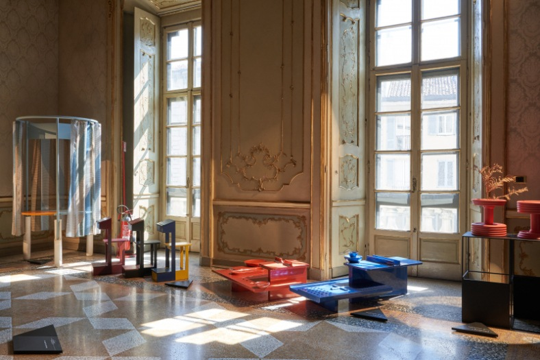 FuoriSalone 2021 5Vie Palazzo Litta Design Variations 2021, curated by MoscaPartners_orografie Ph. Sistemamanifesto