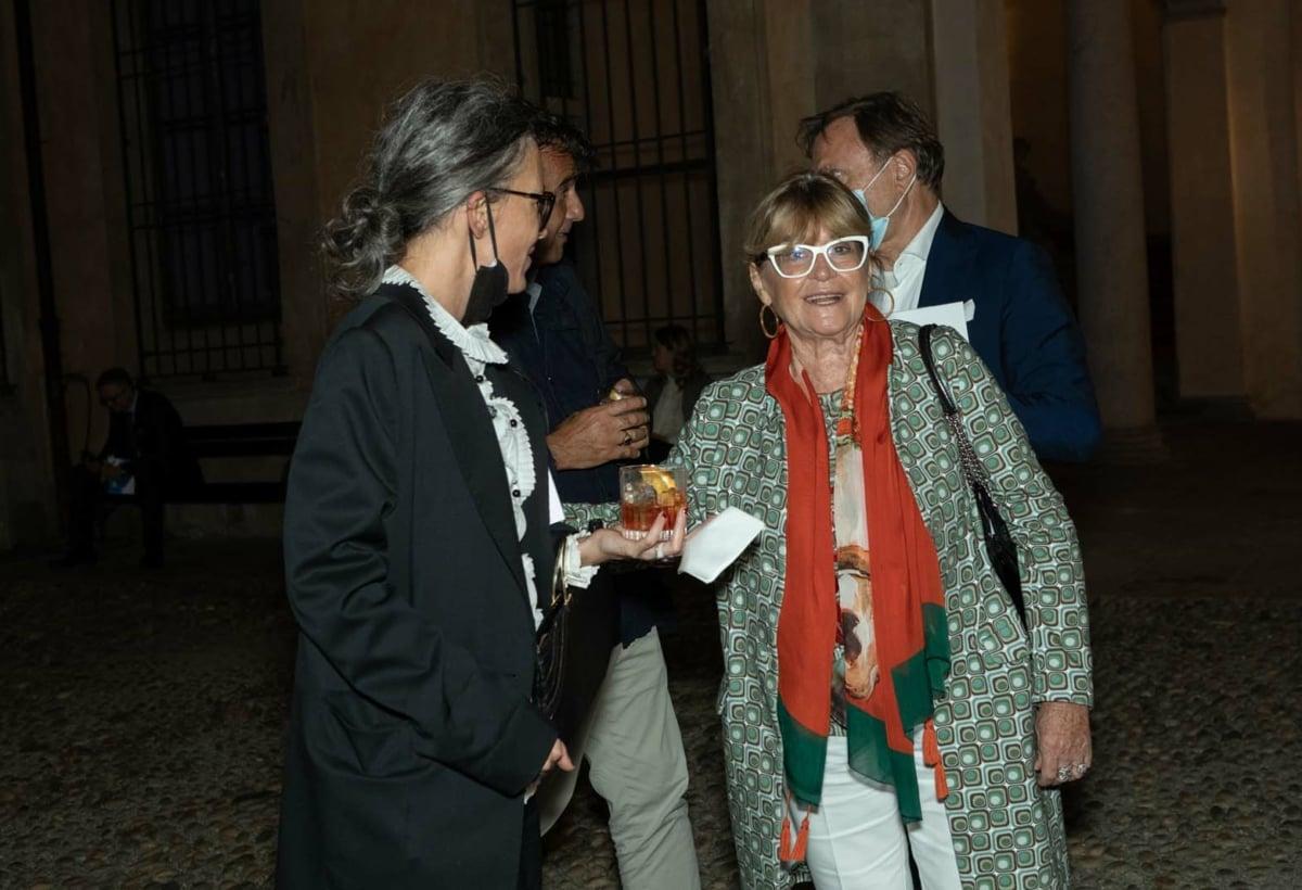 RFK Italia Guests Carola Bestetti CEO LIVING DIVANI e Gilda Bojardi direttore INTERNI