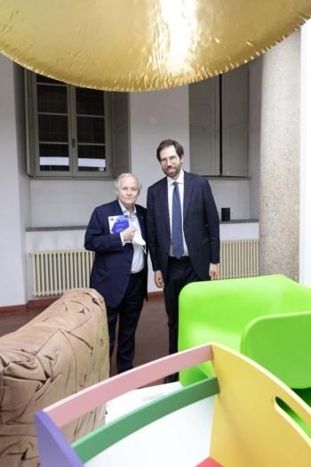 RFK Italia Guests Stefano Lucchini Presidente RFK Italia e Federico Moro Segretario Generale RFK Italia